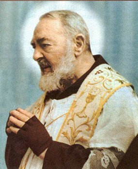 Image result for padre pio image