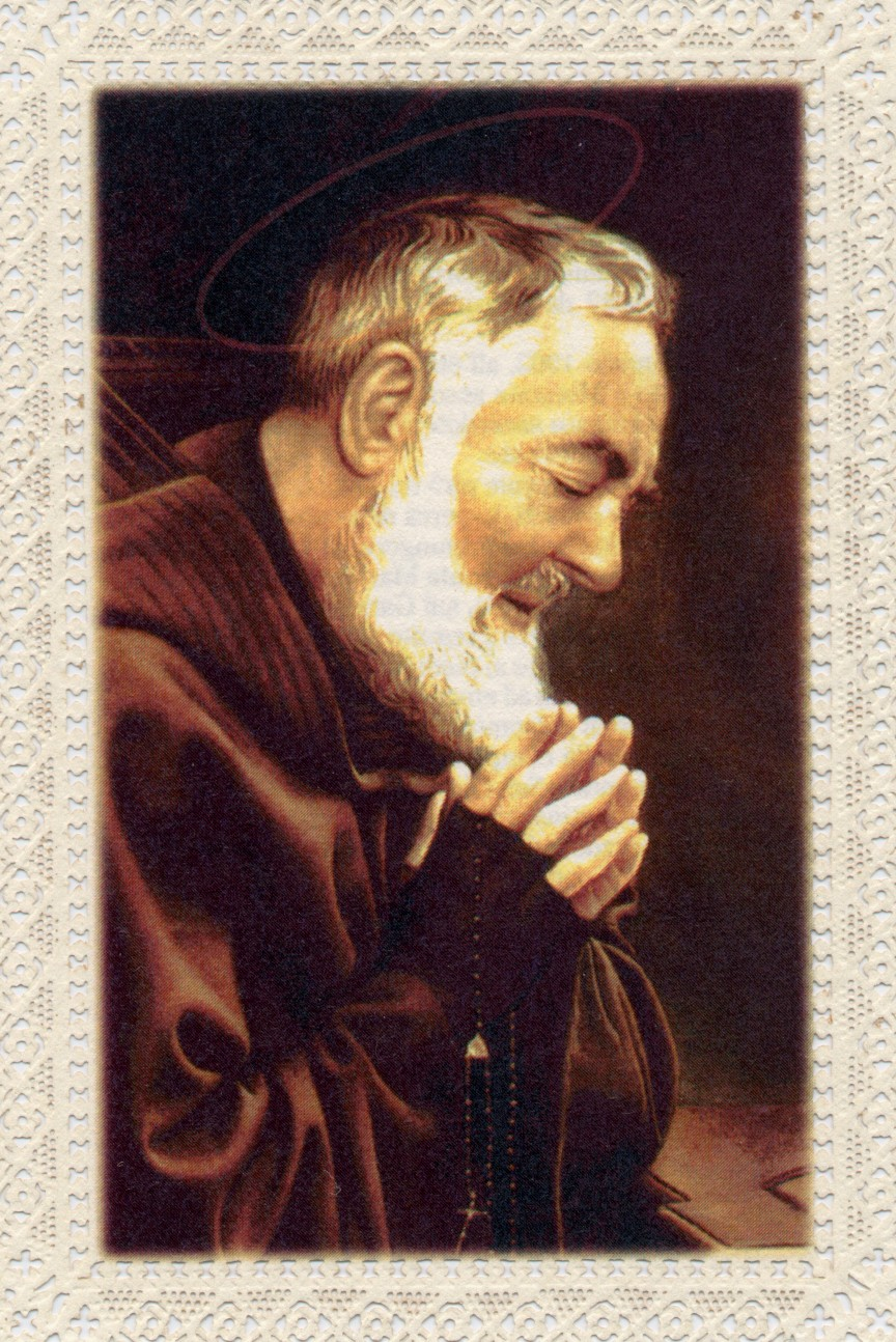 Image result for padre pio glove