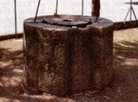 The well at Piana Romana is still standing today.