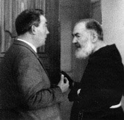 Pietruccio Cugino with Padre Pio